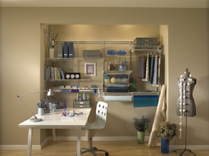 closetmaid shelving home office craft room travel