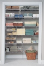Wire Laundry Shelving Packages, kits & prepacks