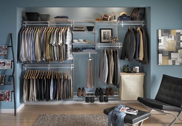 Superb ClosetMaid Adjustable Wardrobe Design