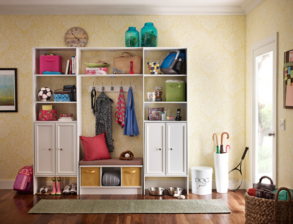 Creating An Orderly Coat Cupboard