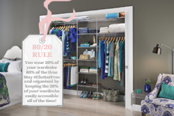 Need To Bring Order To Your Closet? - Use the 80/20 Rule!