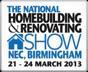 Come & see us at the National Homebuilding & Renovating show!