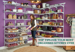Top Tips To Your Most Organised Kitchen Ever
