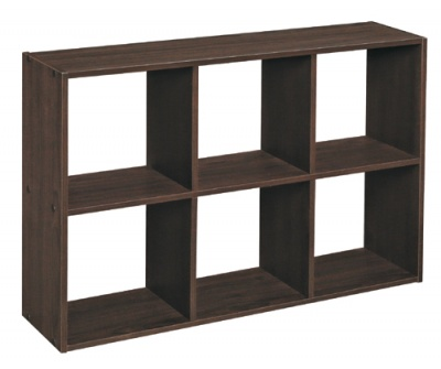 1582 Mini Cubeicals 6 Cube Organiser Espresso