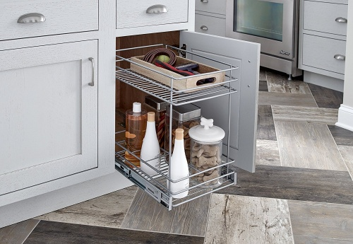 ClosetMaid 2 Tier Pull Out Basket