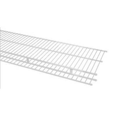 7305 - Shelf & Rod 16'' / 40.6cm Deep Shelving with 12'' / 30.5cm position hang bar from