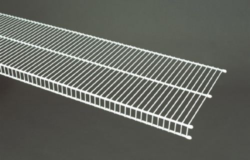 7402 - CloseMesh 12'' / 30.5cm Deep Shelving from