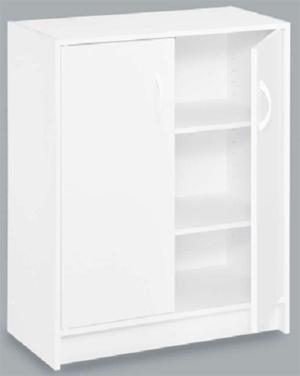 sc 1 st  Organise My Home & 8982 - ClosetMaid 2 Door Laminate Stackable Organiser White