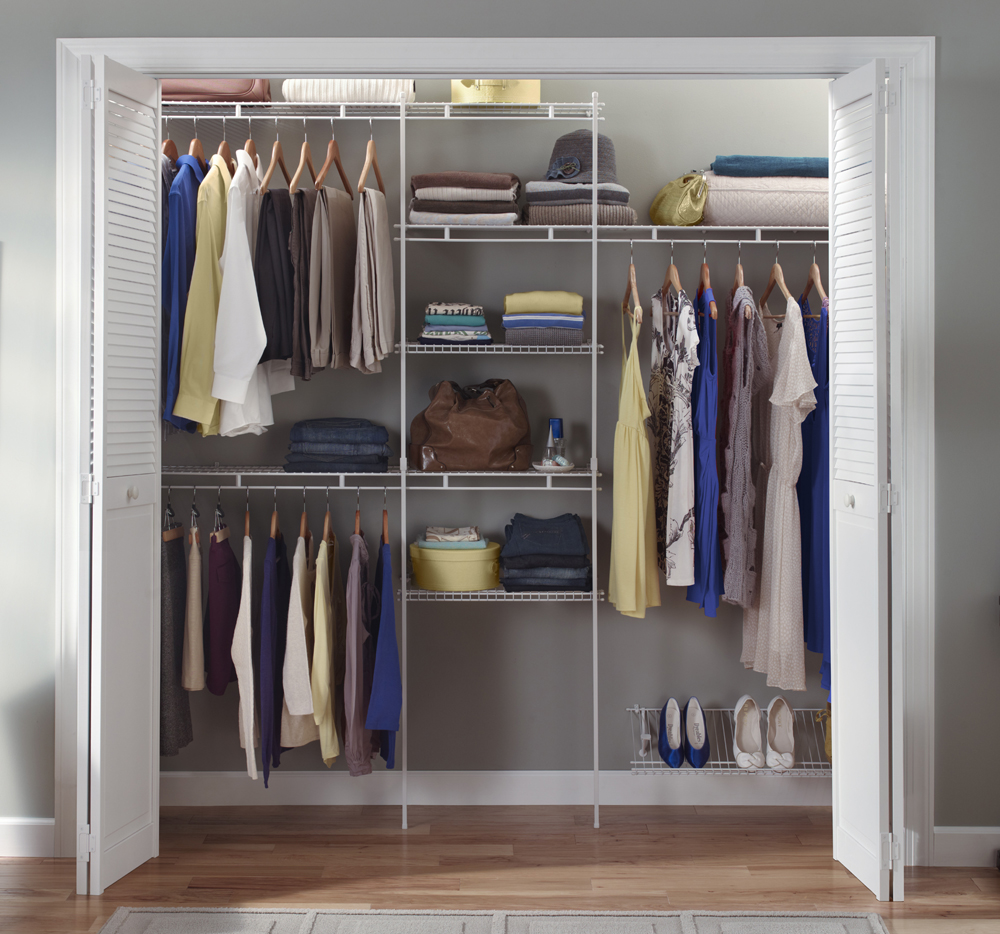 ClosetMaid - wardrobe interior packages. Get organised with an ...