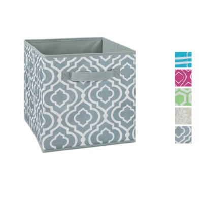 Cubeicals Pattern Print Fabric Drawers