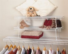 1033 - 2 pack stacking shelf
