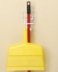 3463 - Broom & dust pan holder