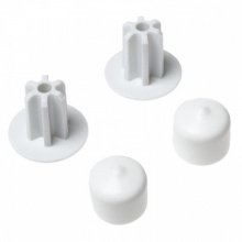 5638 - SuperSlide hanger bar end cap set