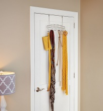 ClosetMaid 6 Hook Over The Door Organiser - 31226