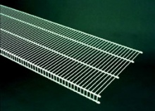 73184 - 1.22m / 4' length of CloseMesh 40.6cm / 16'' deep shelving