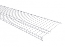 7320 - Linen 16'' / 40.6cm Deep Low Profile Shelving from