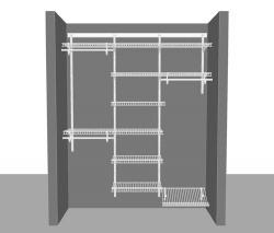 Adjustable Reach in Closet Package 2