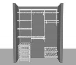 Adjustable Reach in Closet Package 3