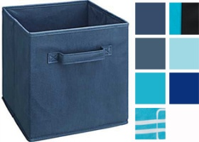 Cubeicals Blue Fabric Drawers