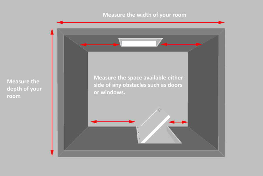 ... of the walls and also any return walls that you may fix the ends of shelves to for ex&le either side of your door way or either side of a window.