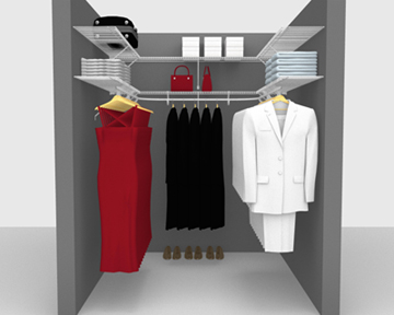 Walk In Wardrobe Packages - up to 6'/ 1.83m Square