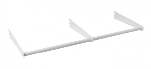 5656 - 2ft - 4ft Adjustable ShelfTrack Hang Rod Kit