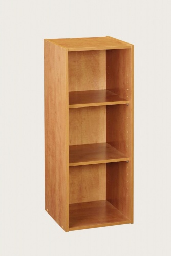 8977 - ClosetMaid 3 Shelf Laminate Stackable Organiser Alder