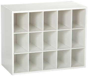 8983 - ClosetMaid Stacker 15 Cube White Laminate Organiser