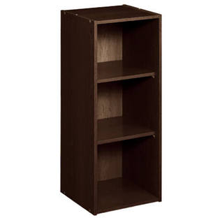 8985 - ClosetMaid 3 Shelf Laminate Stackable Organiser Espresso