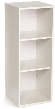 8987 - ClosetMaid 3 Shelf Laminate Stackable Organiser White