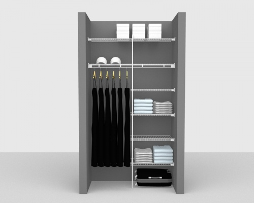 Fixed Mount Package 4 - Linen shelving up to 1,22m/ 4' wide