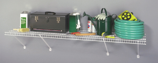 3550 - 1.83m / 6' Heavy Duty Garage Shelf