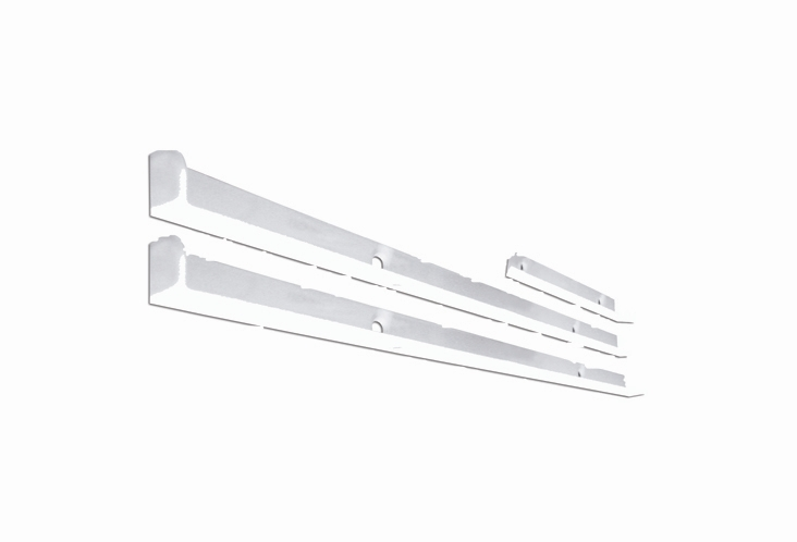 White Top Shelf Fixing Kit - A3