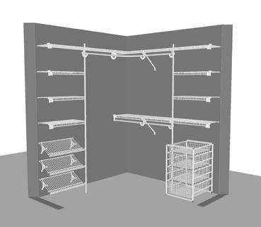 L Shape Closet 1 83m X 6