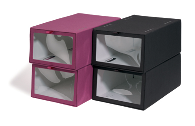 Smart stacking boxes - Pink