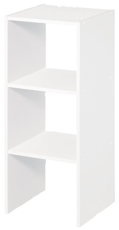 8953 - White 31'' Tall Stackable Storage Unit