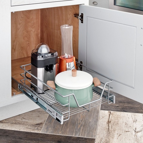 ClosetMaid Wide Single Tier Pull Out Basket - 32100