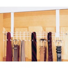 1217 - Over The Door tie and belt rack