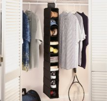 1473 - 10 shelf hanging organiser