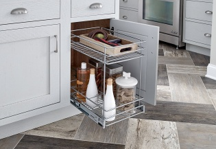ClosetMaid 2 Tier Pull Out Basket - 32104