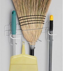 Broom & Mop Holder - 3462