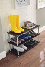 5014 - 3 Tier Shoe Organiser (Chocolate)