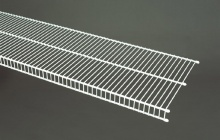 7402 - CloseMesh 12'' / 30.5cm Deep Shelving - Available in 4', 6', 8' & 9' lengths