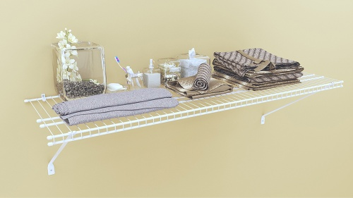 16'' deep Pre Pack Shelf Kits - Available in 2', 3', 4' & 6' Lengths