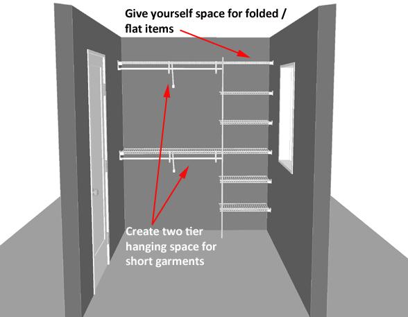 How To Design A Walk In Wardrobe