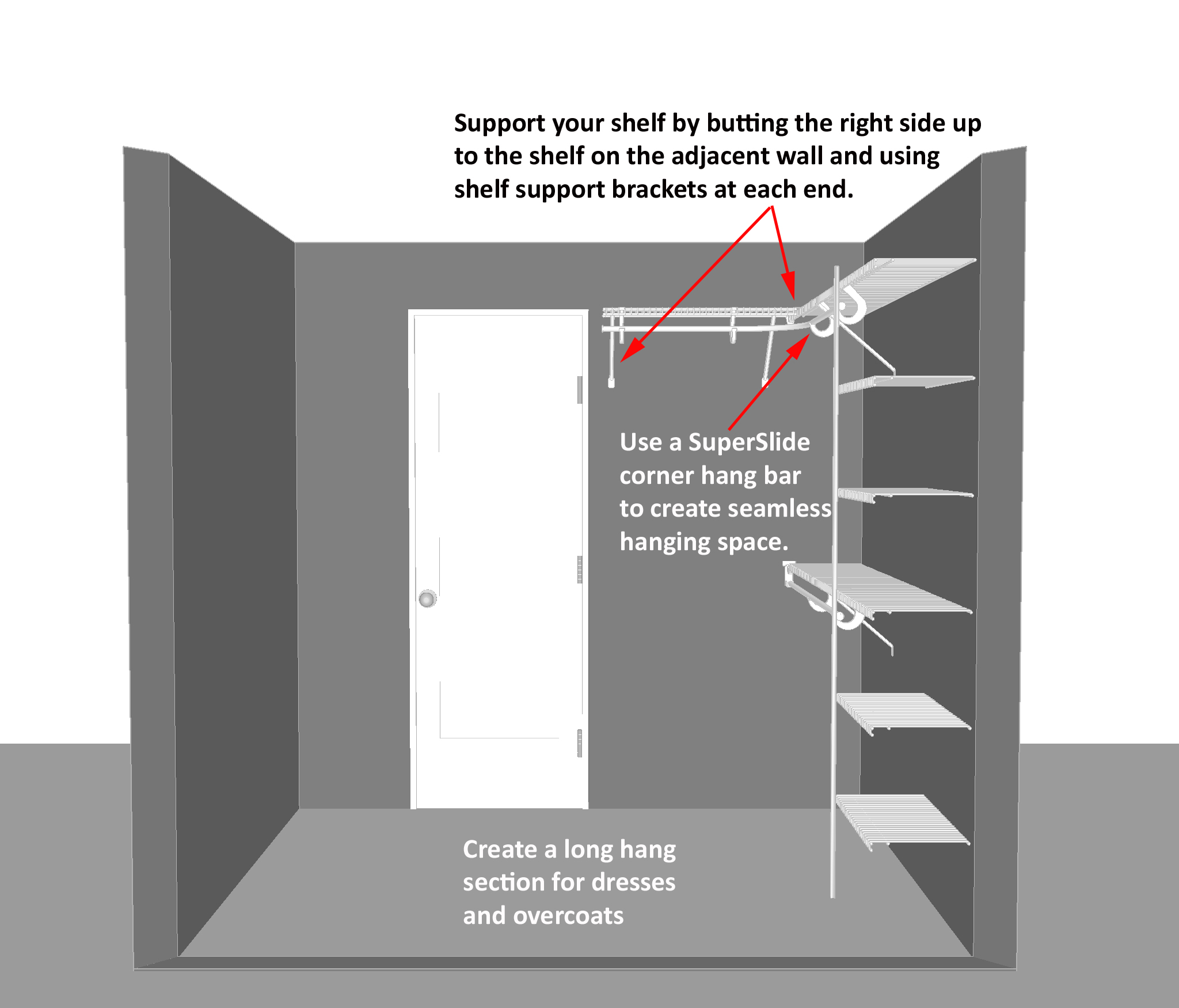 Walk In Closet Dimensions D